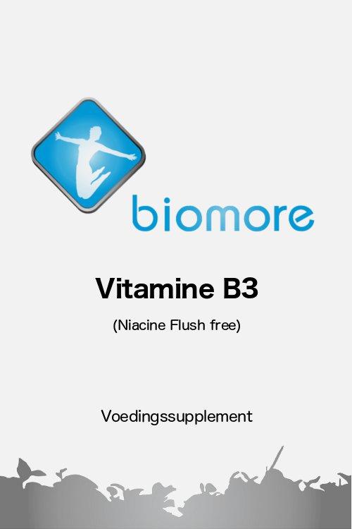 Biomore Vitamine B3 Niacine flush free