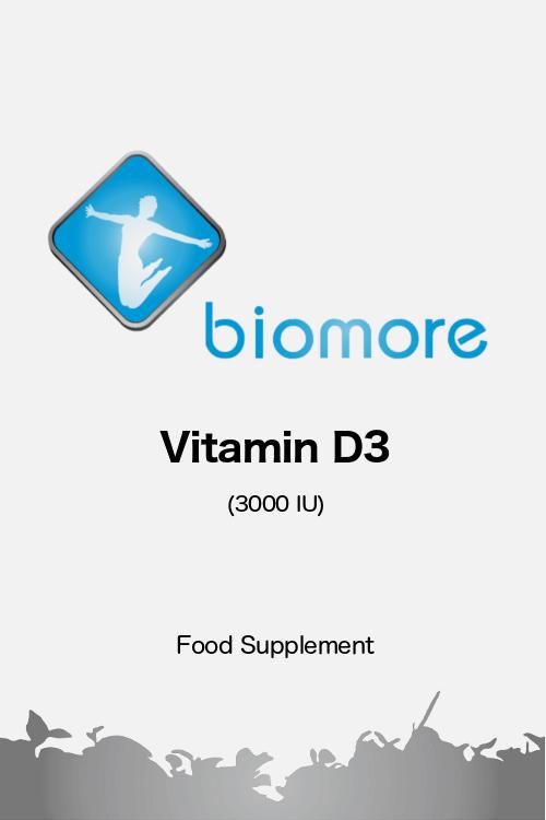 Biomore Vitamin D3 3000 UK