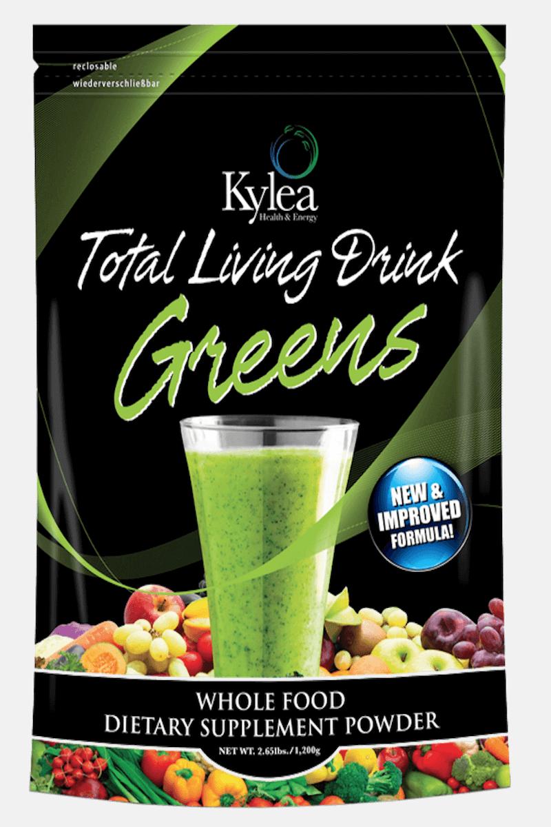 Total living drink greens