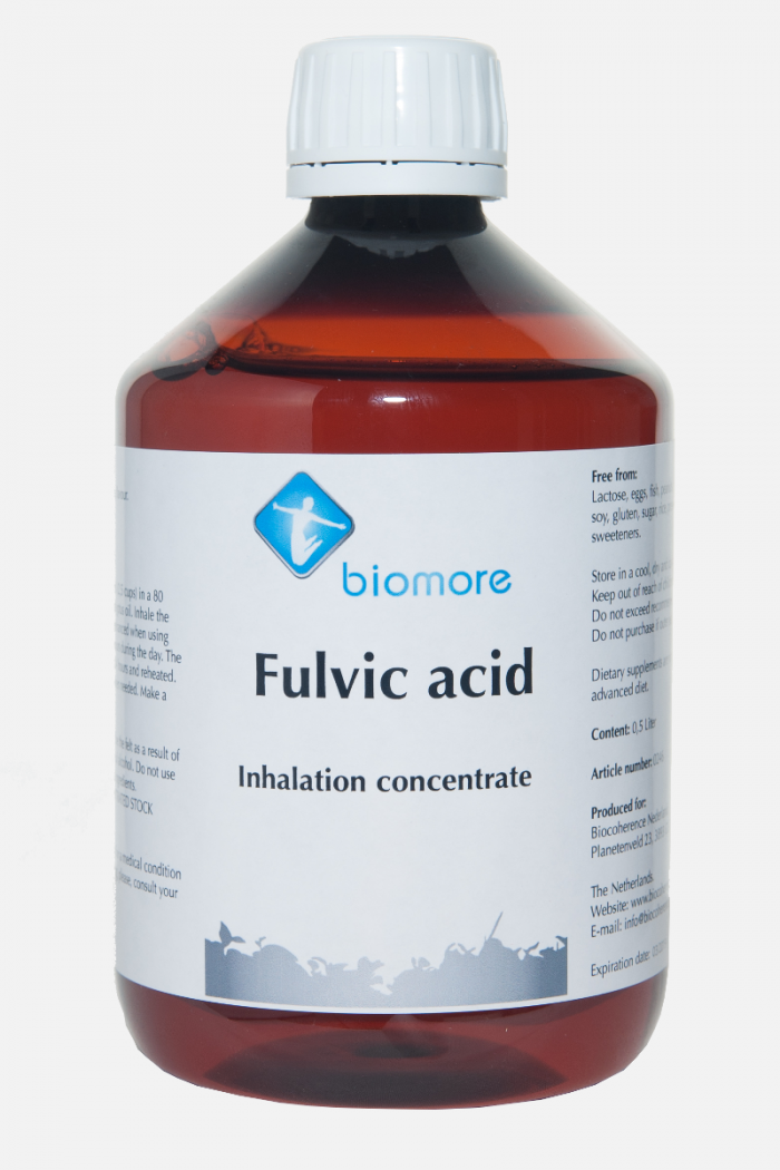 Biomore Fulvic acid inhalation concentrate